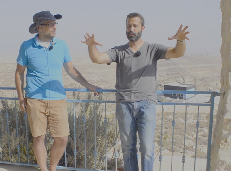 Interview with Jeremy Gimpel in the Biblical Heartland of Judah.