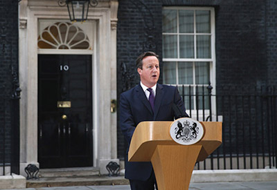 Prime Minister David Cameron outlines plans for more devolution, and a Constitutional crisis!