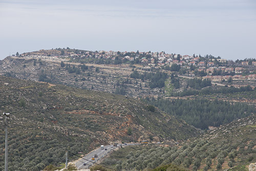 The Jewish Settlement of Eli in the West Bank Area of Benjamin